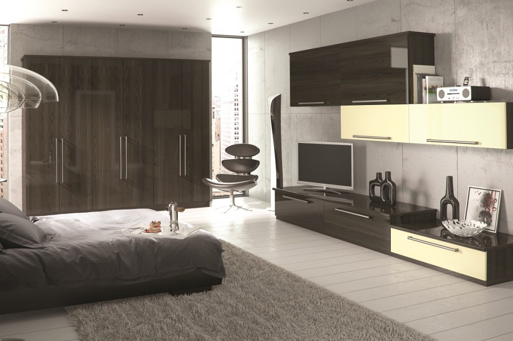 contemporary fitted bedroom wardrobes