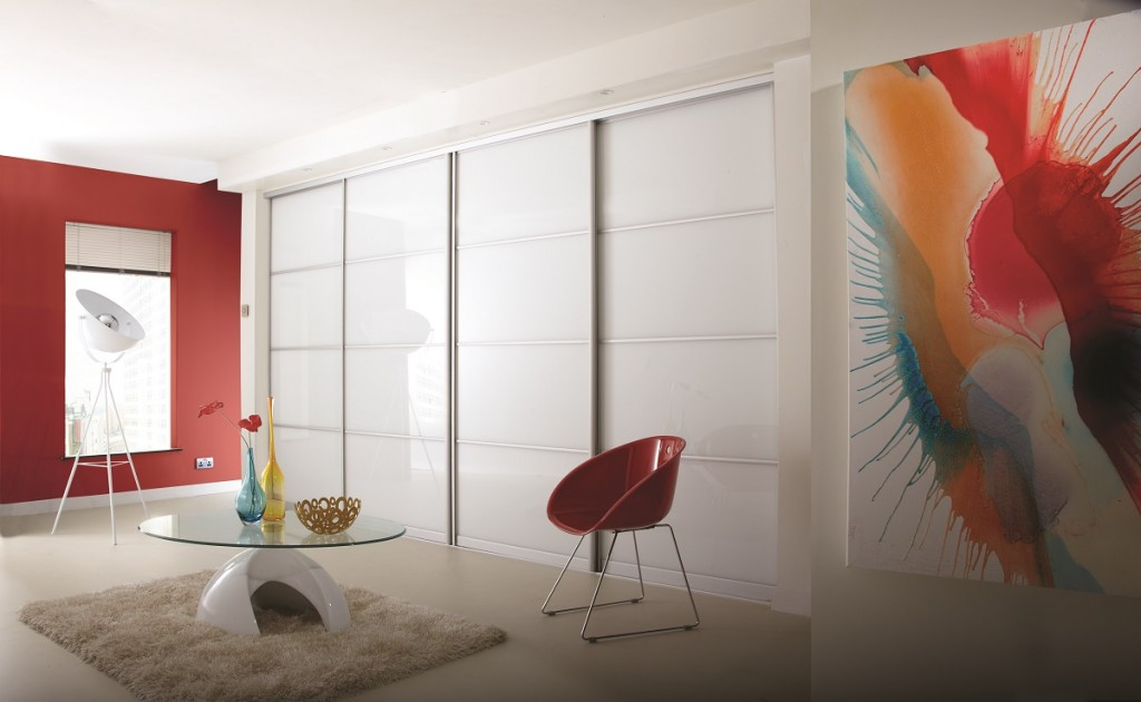 white sliding wardrobe doors harrogate